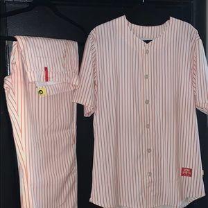 Golf  baseball uniform